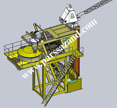concrete batching plant  بچینگ پلانت